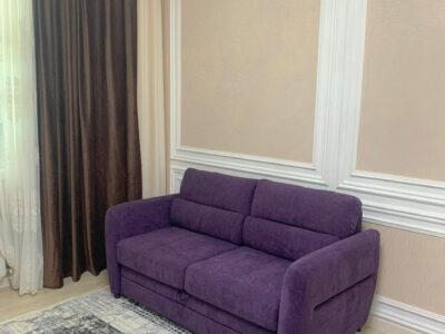 """Прямой диван """"Брайтон 3Ф"""" Обивка: Romeo 8008"""