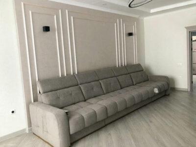 """Прямой диван """"Камелот 1Я-3Ф-1Я"""" Обивка: Romeo 8033"""