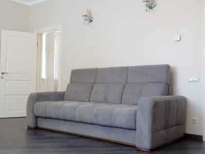 "Прямой диван ""Камелот 3Ф"" Обивка: 02004 Griffon 08"