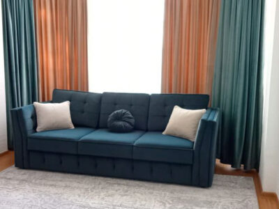 "Прямой диван ""Лучано 3Ф"" Обивка: Ariba велюр 14"
